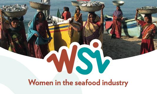 """Únete al webinar gratuito """"Las mujeres en la industria pesquera: género en el orden del día""""."""