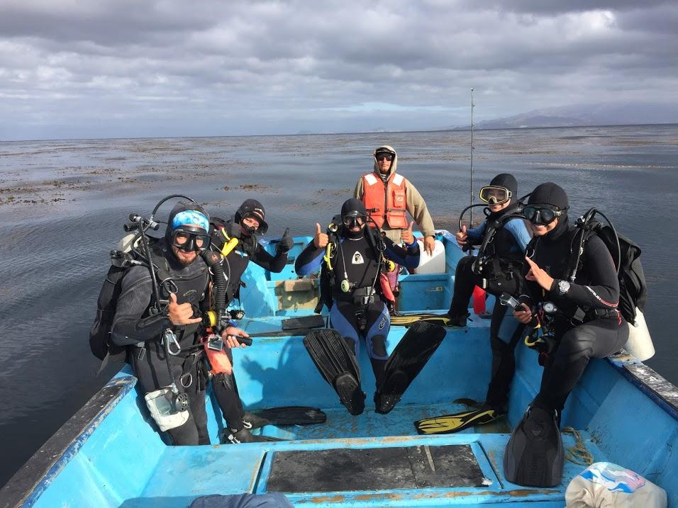 Equipo de monitoreo de Isla Natividad, BCS